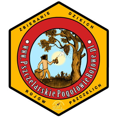 Logo - Pszczelarskiego Pogotowia Rojowego